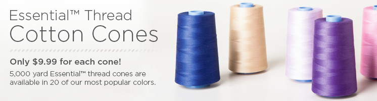 Essential Cone Cotton Quilting Thread