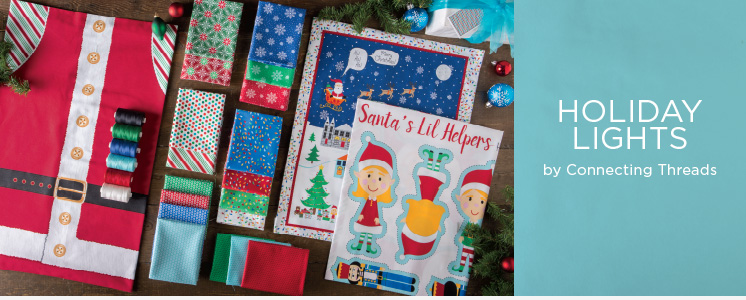 Holiday Lights Fabric Collection
