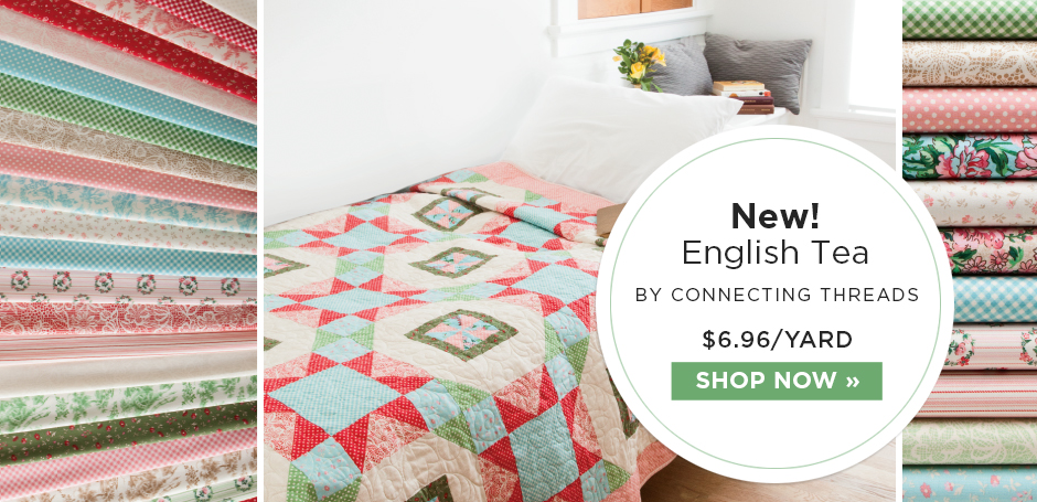English Tea Quilting Fabric Collection