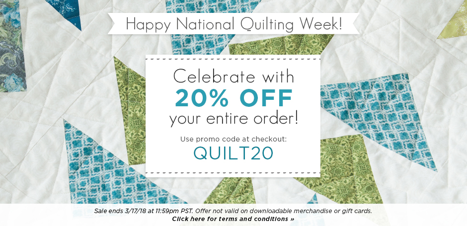 National Quilting Week