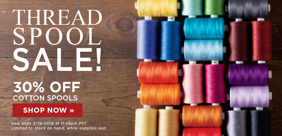 Thread Spool Sale
