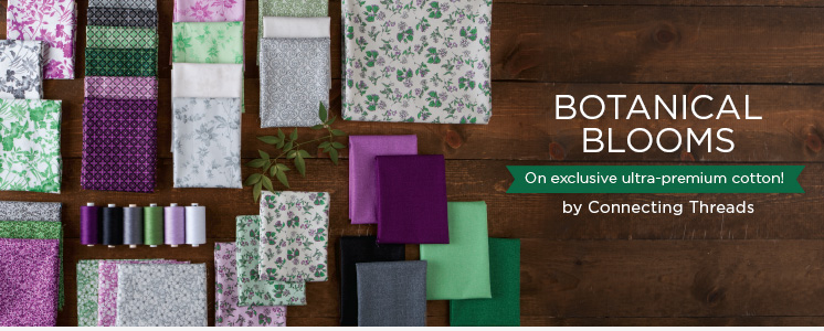 Botanical Blooms Fabric Collection