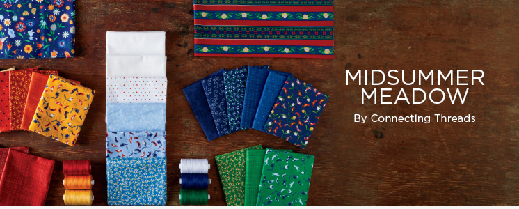 Midsummer Meadow Quilting Fabric Collection