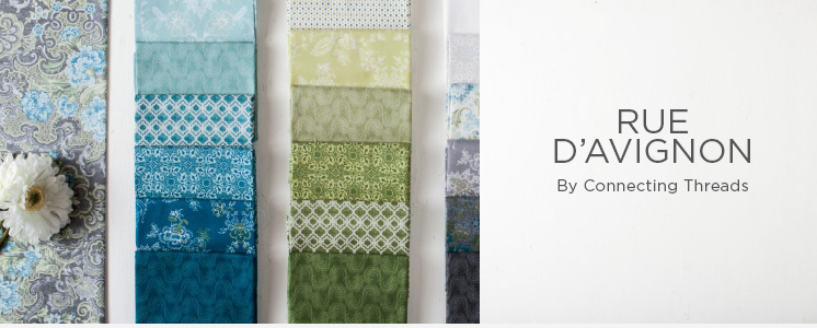 Rue D'Avignon Quilting Fabric Collection