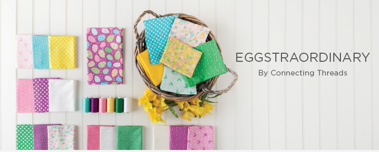 Eggstraordinary Quilting Fabric Collection