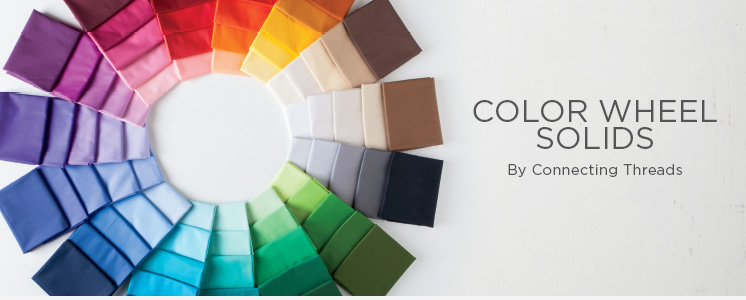 Color Wheel Solids Fabric Collection