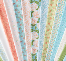 Pretty Roses Quilting Fabric