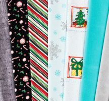 Days of Christmas Quilting Fabric