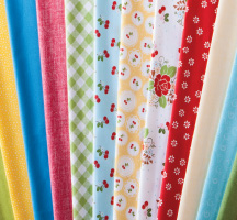 Sew Cherry 2 Quilting Fabric