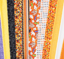 Spooky Snacks Quilting Fabric