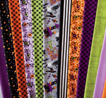 Spooky Night Quilting Fabric