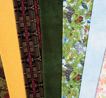 Quilter's Candy Flannel Novelties Quilting Fabric
