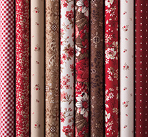 Sweet and Lovely Quilting Fabric
