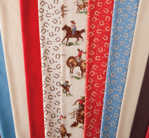 Wild West Cowboys Quilting Fabric