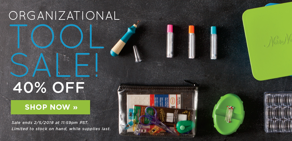 Organizational Tools Up To 40% Off
