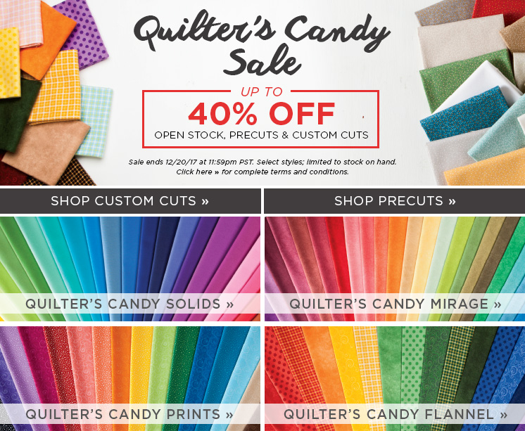 Quilter's Candy Sale