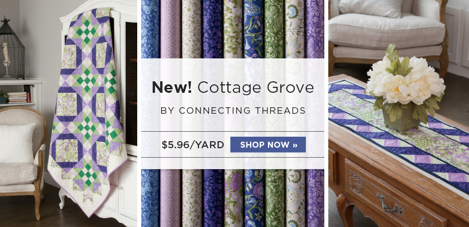 Cottage Grove Quilting Fabric Collection