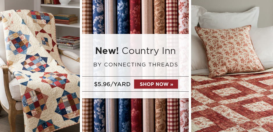 Country Inn Quilting Fabric Collection
