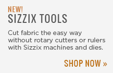 New Sizzix Quilting Tools