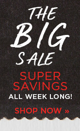 Our Big Sale