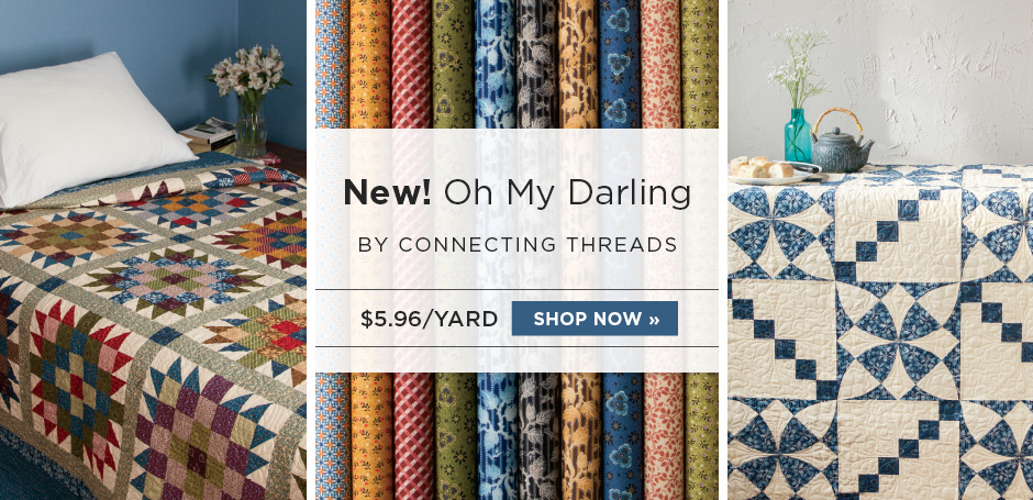 Oh My Darling Fabric Collection
