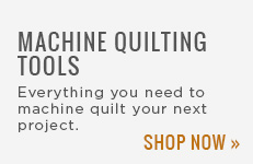 Machine Quilting Tools