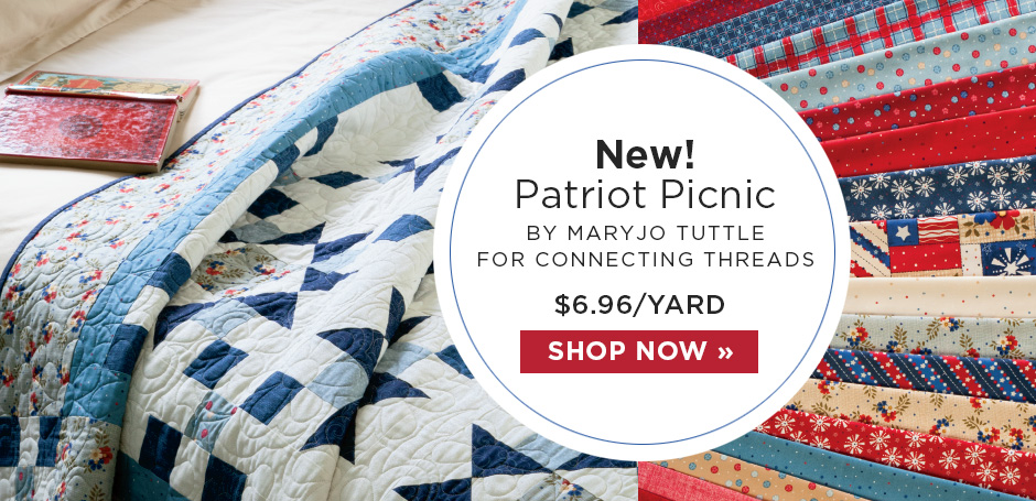 Patriotic Picnic Fabric Collection