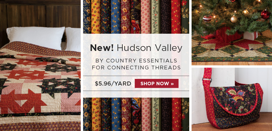 Hudson Valley Fabric Collection