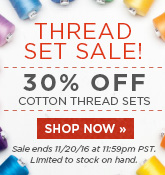 Thread Set Sale