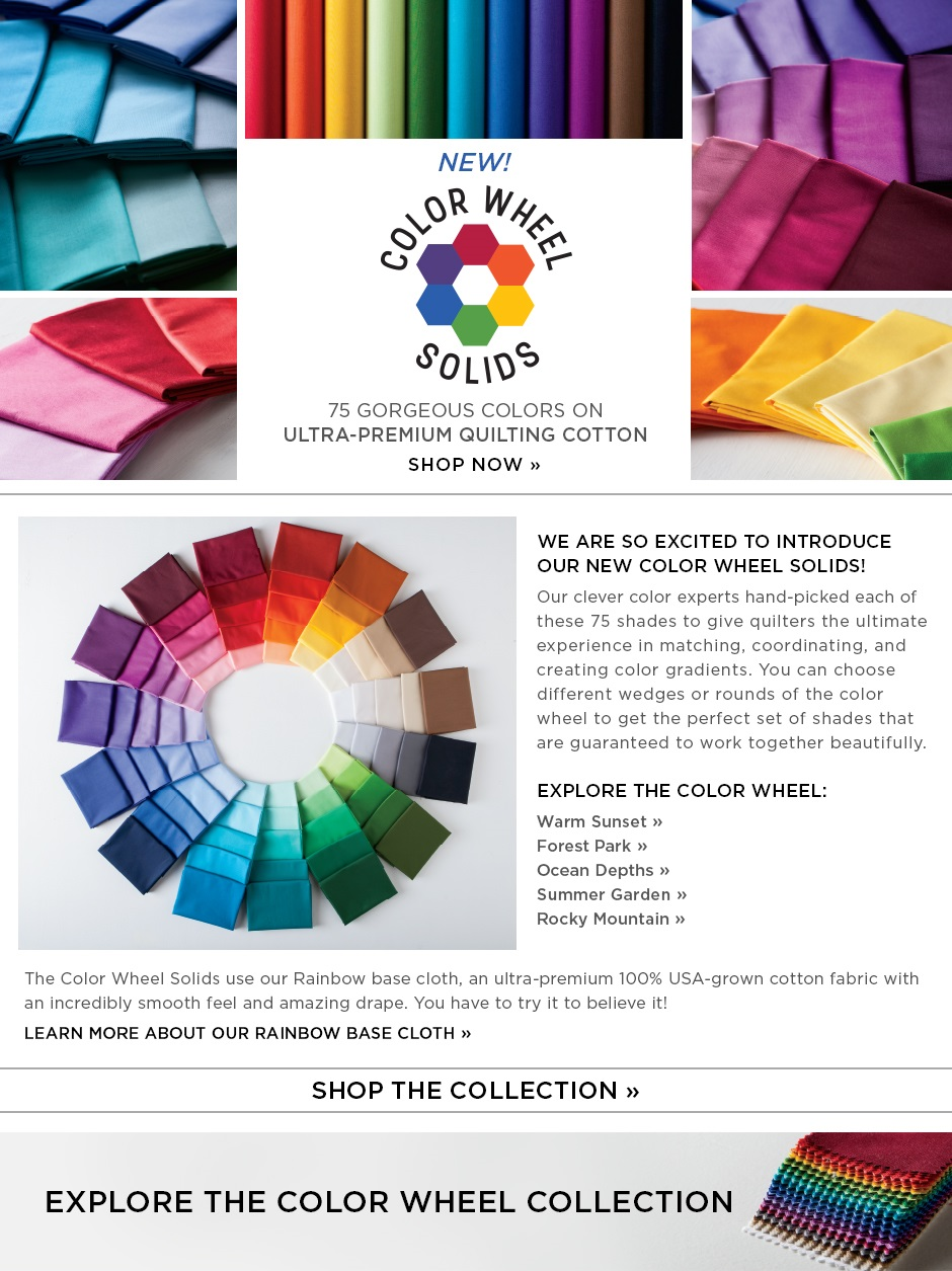 New Color Wheel Solids