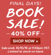 Final Days of Book Sale