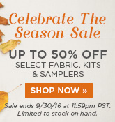 Celebrate the Season Sale