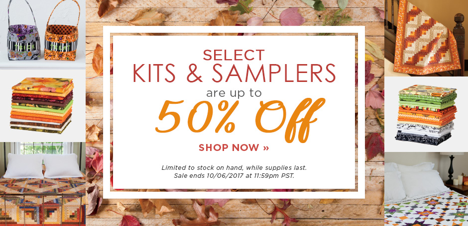 Kit & Sampler SALE