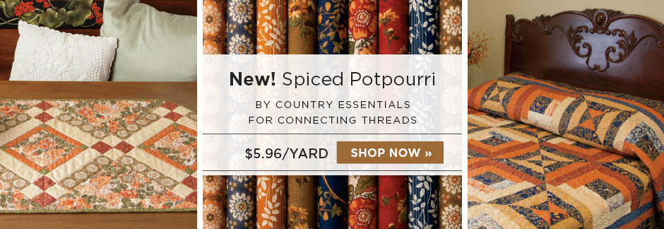 Spiced Potpourri Fabric Collection