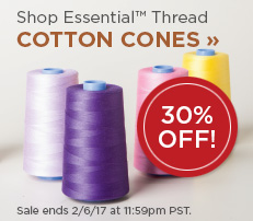 Essential Cotton Cone Quilting Thread