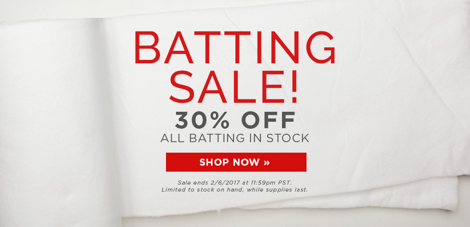 Batting Sale