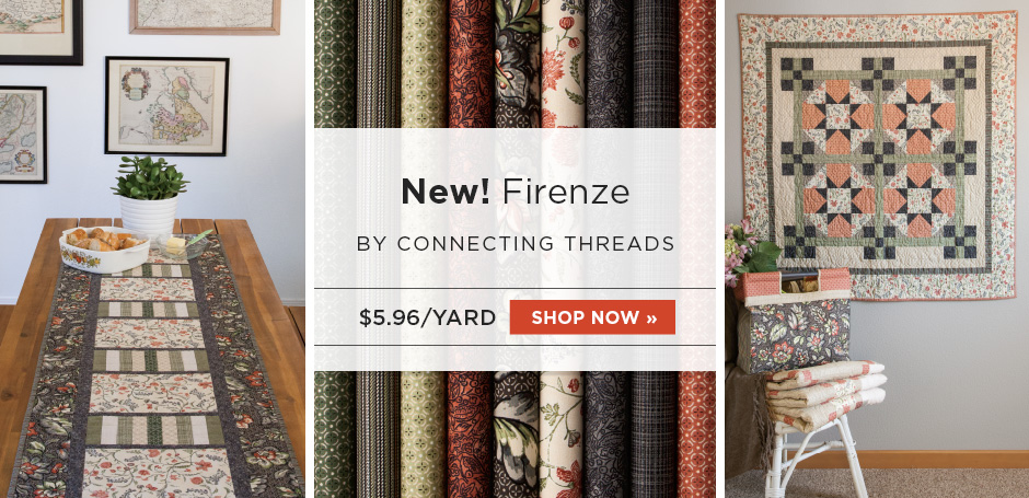 Firenze Quilting Fabric Collection