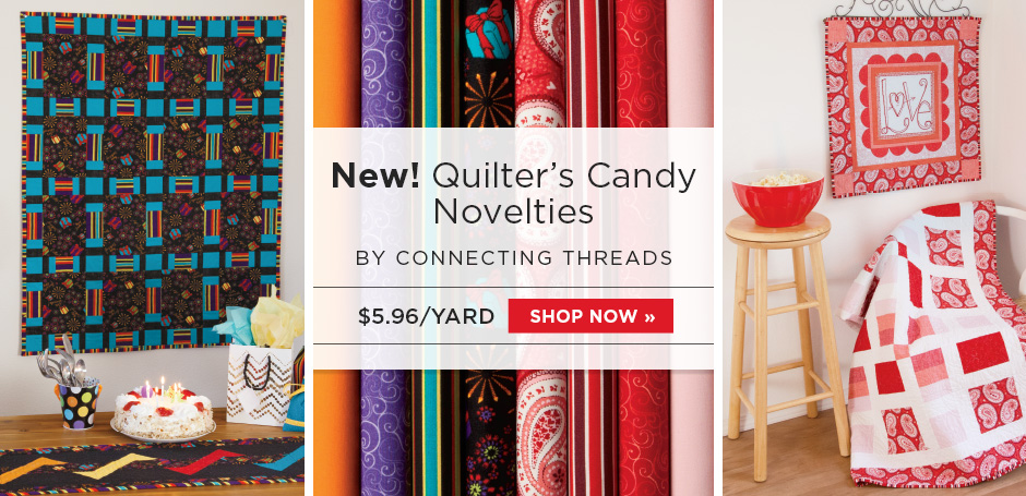 Quilter's Candy Novelties Fabric Collection