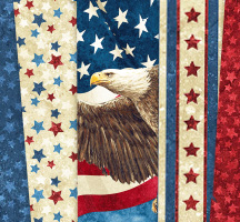 Stonehenge: Stars & Stripes Quilting Fabric