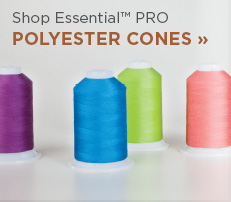 Essential Polyester Thread Cones