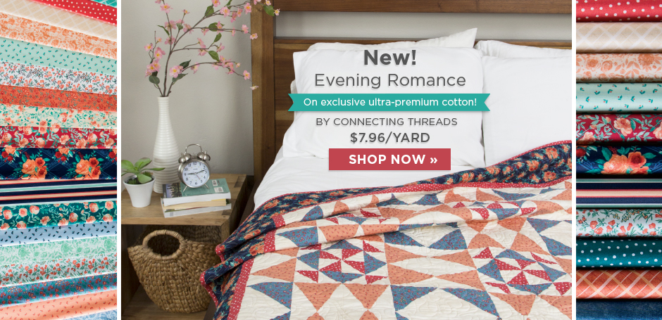 Evening Romance Fabric Collection