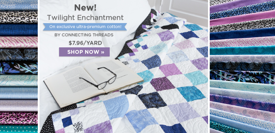 Twilight Enchantment Fabric Collection