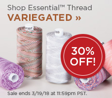 Essential Cotton Variegated Thread