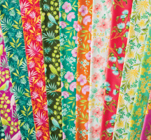 Beach Bash Quilting Fabric