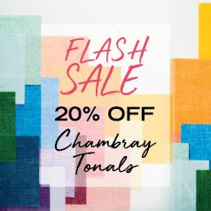 Chambray Tonals Flash Sale