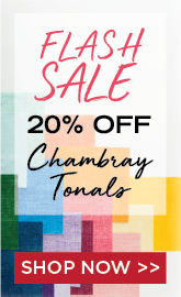 Chambray Tonals Flash Sale
