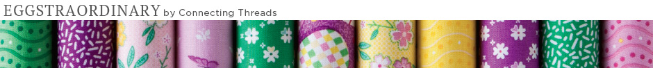 Eggstraordinary Quilt Fabric