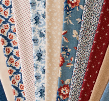 Faded Memories Quilting Fabric