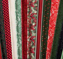 Christmas Trimmings Quilting Fabric