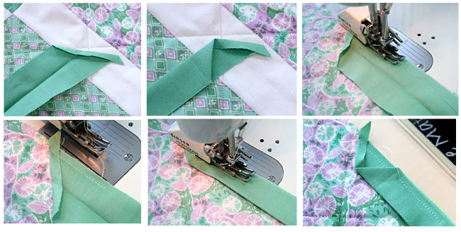 How To Bind A Quilt Machine Quilt Binding Tutorial Fascinating How To Sew Binding On A Quilt With A Machine